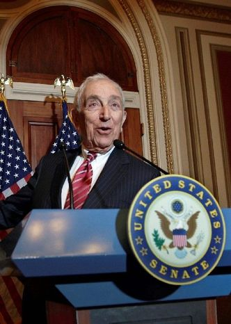Sen. Frank R. Lautenberg, New Jersey Democrat, returned to the Senate after an absence of two years. Now, former senator Bob Kerry of Nebraska, with whom Lautenberg served, is attempting a comeback. (Associated Press)
