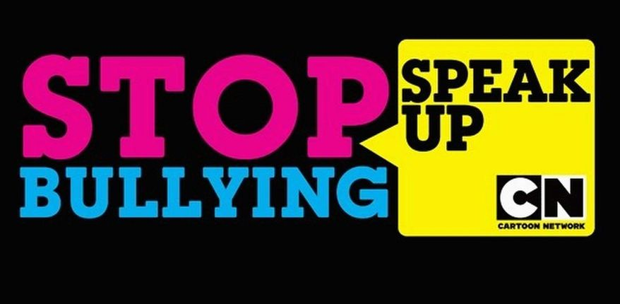 """Logo for the Cartoon Network's """"Stop Bullying: Speak Up"""" initiative, for which President Obama will deliver a message."""