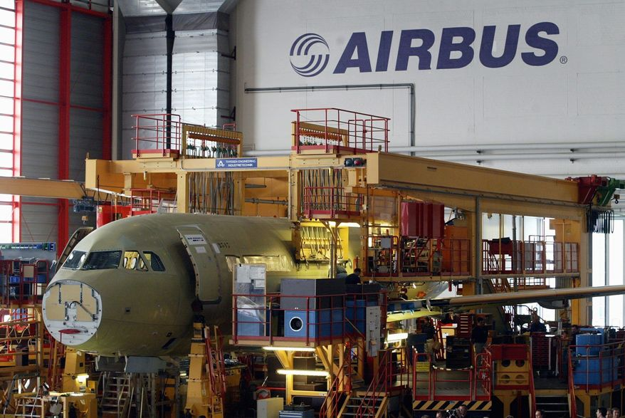 """Airbus has applauded a ruling by the World Trade Organization that Boeing received """"at least $5.3 billion"""" in illegal subsidies from the U.S. from 1989 to 2006. The U.S. has noted the WTO came down heavier on the European Union for its support of Airbus. (Associated Press)"""