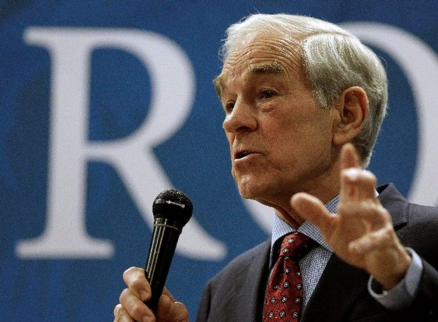 Presidential hopeful Rep. Ron Paul, Texas Republican, making his second run for the Republican nomination, has improved his vote total over 2008 in every state so far except for Idaho, which switched from a primary to a caucus. (Associated Press)
