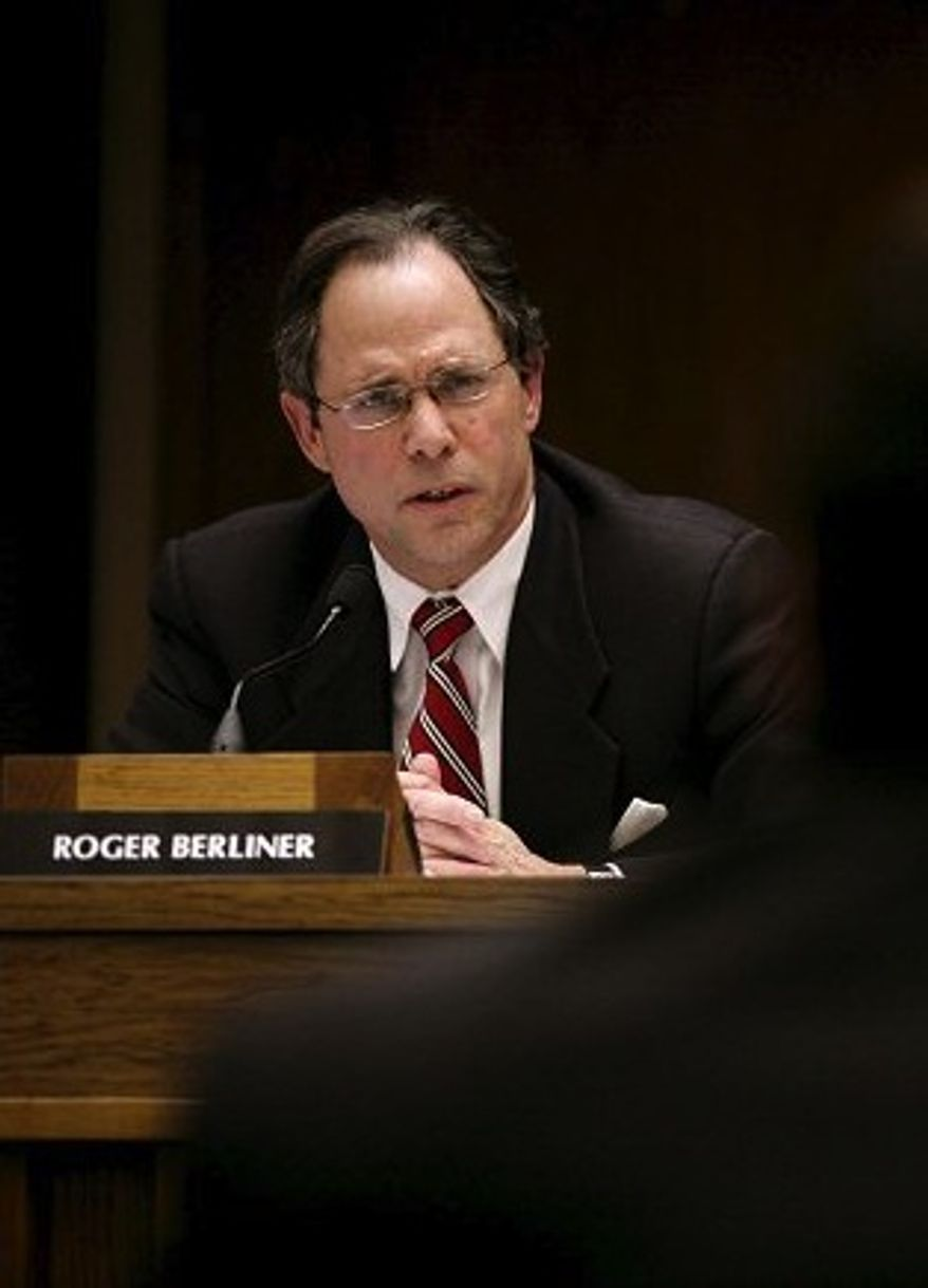 Montgomery County Council President Roger Berliner (The Washington Times)