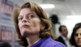 """[W]e have a problem here,"" Sen. Lisa Murkowski, Alaska Republican, says at a hearing about the Obama administration's record on energy production. (Associated Press)"