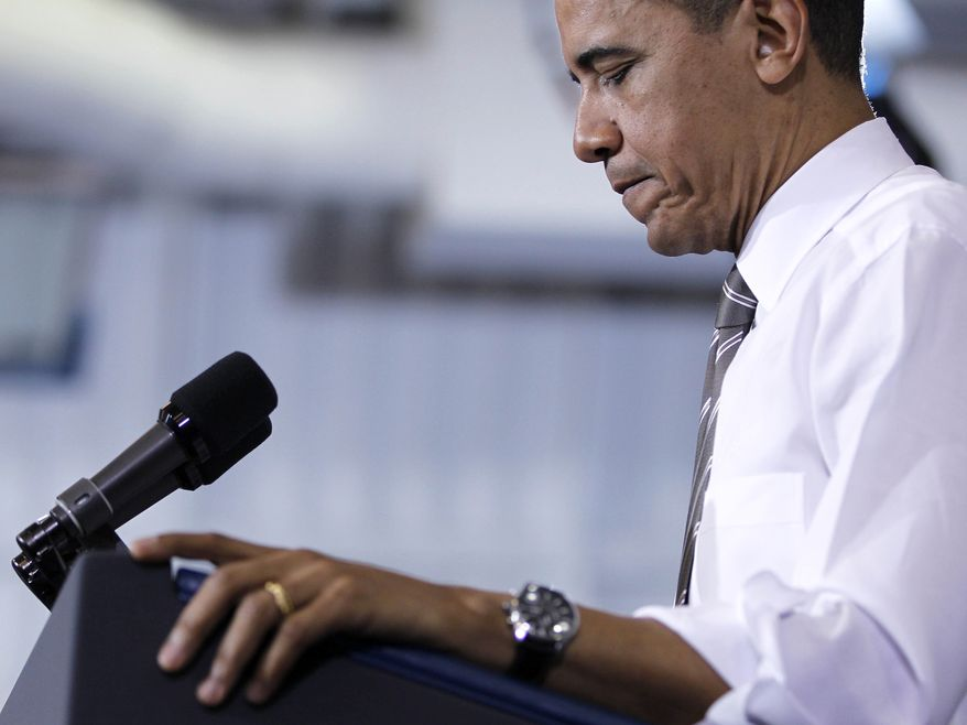 President Obama delivers remarks on energy on March, 15, 2012, in Largo, Md. (Associated Press)