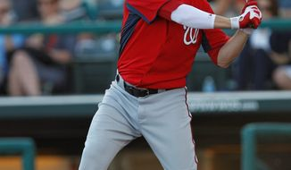 ASSOCIATED PRESS First baseman Adam LaRoche signed a two-year, $16 million deal with the Nationals before last season, but he appeared in just 43 games in 2011.