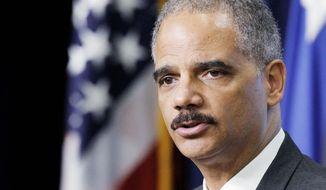 ** FILE ** Attorney General Eric H. Holder Jr. (Associated Press)