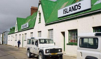 The Falkland Islands Co., with headquarters in Stanley, is the largest private employer of the Independent Overseas Territory. Residents have one of the highest per capita incomes in the Western Hemisphere. (Associated Press)
