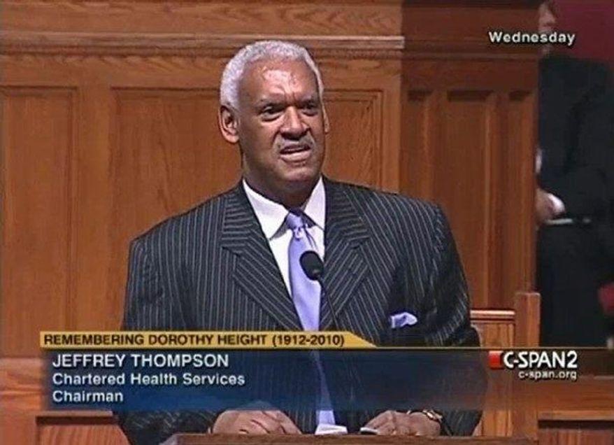 ** FILE ** Jeffrey E. Thompson on March 20, 2012. (Courtesy of C-SPAN)