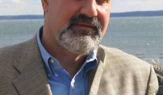 "BIg thinker, statistician and maven of risk engineering Nassim Nicholas Taleb, author of the 2007 bestseller ""The Black Swan,"" will appear at an upcoming Ron Paul fundraiser in Bel Air, Calif. (Photo courtesy Nassim Taleb)"