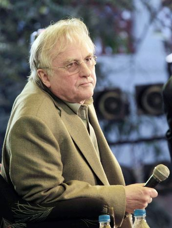 British writer on evolution and biology Richard Dawkins (Associated Press) ** FILE **