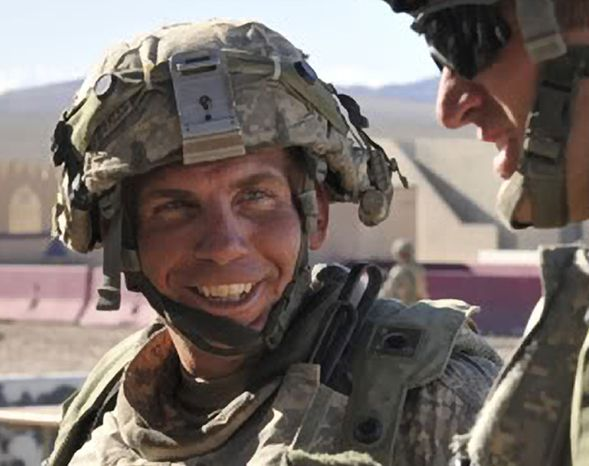 **FILE** In this photo provided by the Defense Video & Imagery Distribution System, Sgt. Robert Bales takes part in exercises at the National Training Center at Fort Irwin, Calif., on Aug. 23, 2011. (Associated Press/DVIDS, Spc. Ryan Hallock)