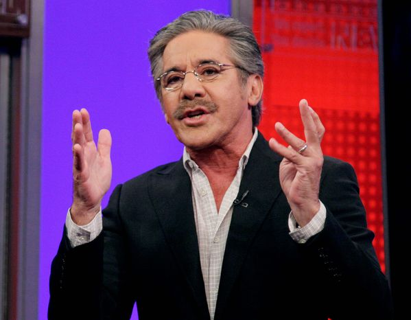 "In this 2010 photo, Fox News Channel commentator Geraldo Rivera speaks on the ""Fox & Friends"" television program in New York. (Associated Press)"