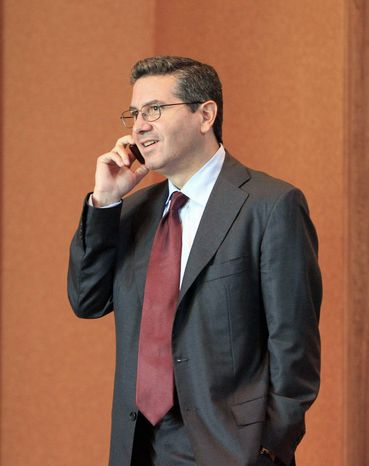 Dan Snyder's Redskins stated their case to 30 other NFL teams at the owners meetings. The Cowboys joined the Redskins in that explanation. (Associated Press)