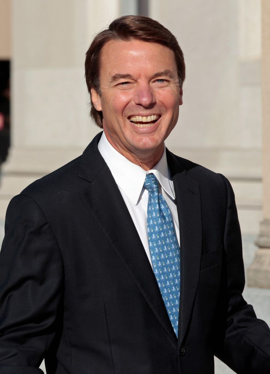 Both sides agreed Monday that the intimate video made by former Sen. John Edwards' mistress, Rielle Hunter, should not be shown to jurors. (Associated Press)