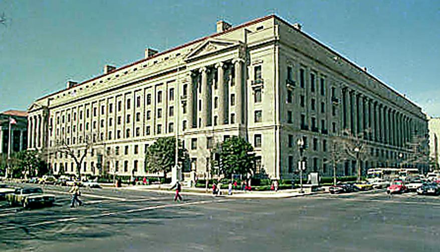 Department of Justice headquarters in Washington (Associated Press)