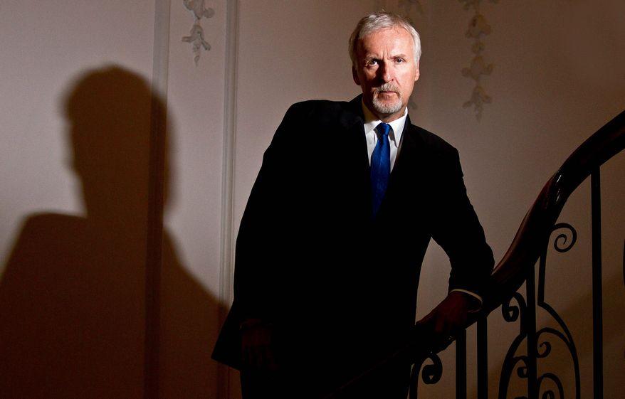 James Cameron. (Associated Press)