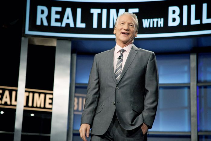 """While Bill Maher leans left politically, he gives his conservative guests on """"Real Time"""" ample opportunity to express their views. Those who have appeared offer some survival tips. (HBO via Associated Press)"""