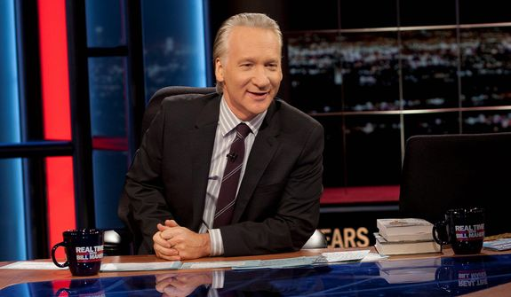 """""""Real Time,"""" hosted by Bill Maher, isn't a place to not know your stuff so come prepared to engage the other guests and defend your views, say those who have been on the show. (HBO via Associated Press)"""