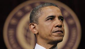 President Obama speaks March 26, 2012, at Hankuk University in Seoul. (Associated Press)