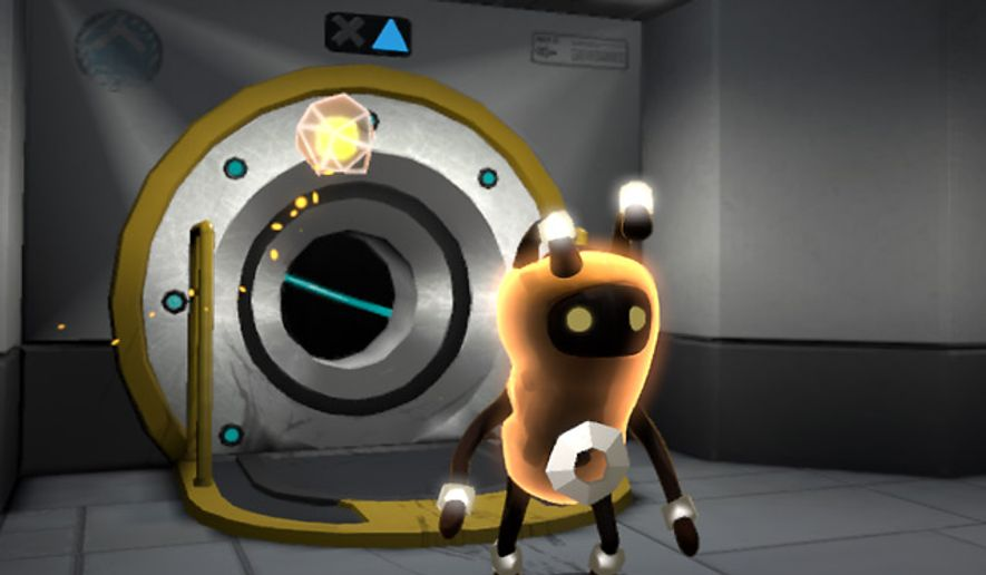 A cute but lethal extraterrestrial named Zero stars in the PlayStation 3 video game Warp.