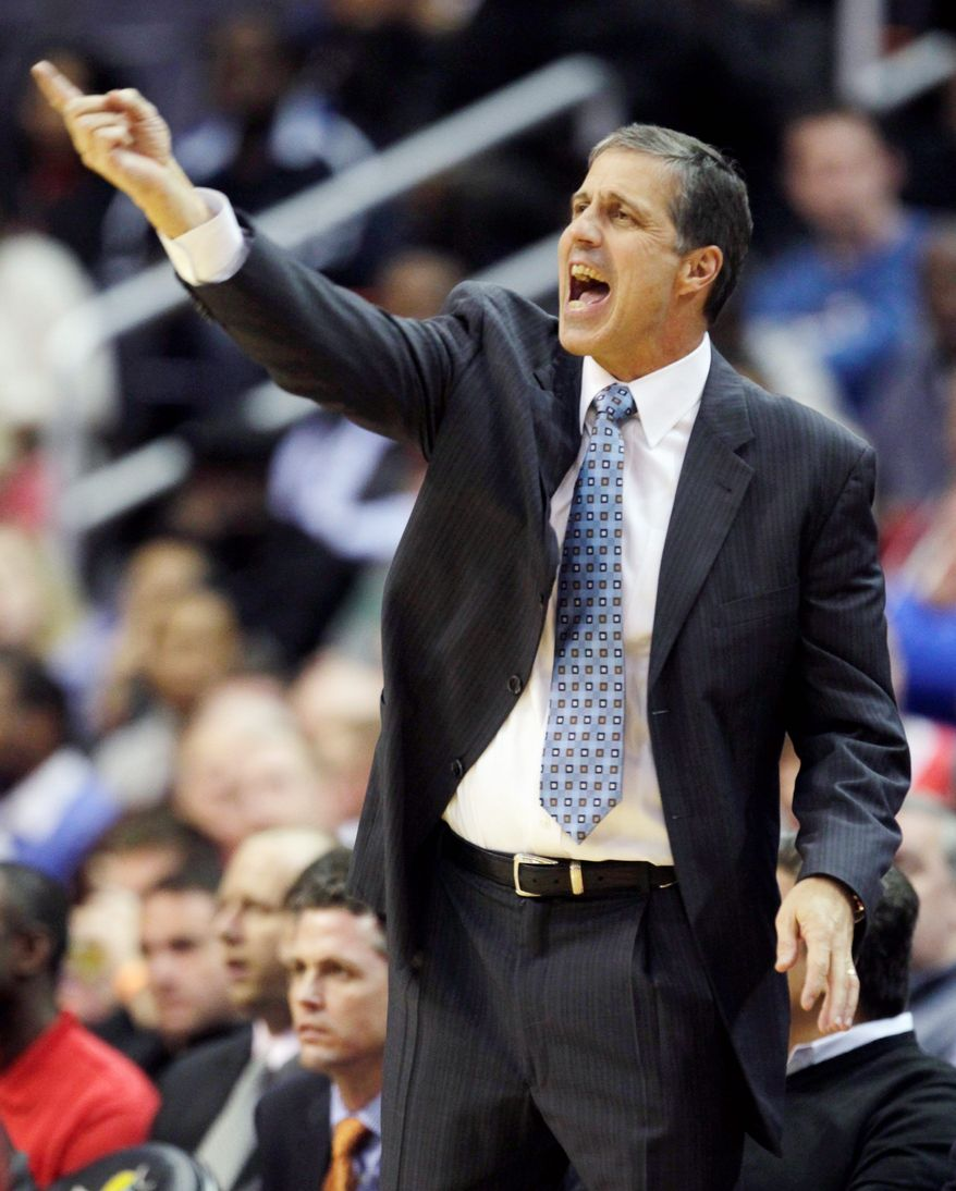 ** FILE ** Washington Wizards head coach Randy Wittman (AP Photo/Carolyn Kaster)
