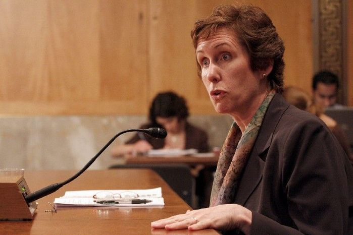 **FILE** Former General Services Administration chief Martha Johnson resigned after her agency spent lavishly at a training conference for federal workers in Henderson, Nev., near Las Vegas. (Associated Press)