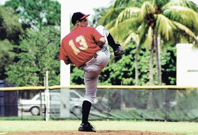 Gio Gonzalez's childhood pursuits often led him to a baseball diamond. His youthful passion paid off when he was drafted by the Chicago White Sox in the first round in the 2004 amateur draft. (Gonzalez family)