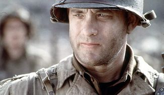 "Tom Hanks in ""Saving Private Ryan."" (Associated Press)"