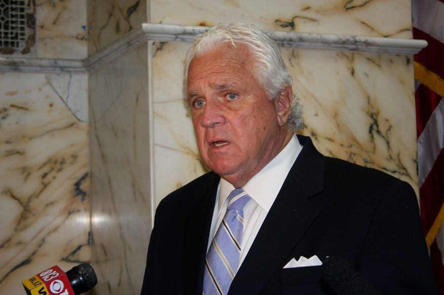 "Senate President Thomas V. Mike Miller, Prince George's Democrat, admits that raising the state's gas tax ""doesn't poll well."" (Associated Press)"