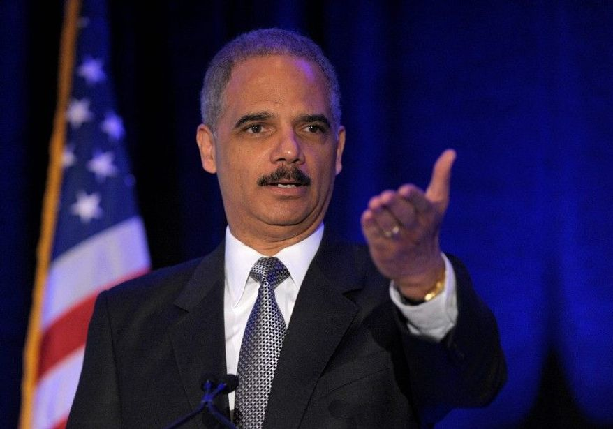 """Attorney General Eric H. Holder Jr. acknowledged Wednesday that the Supreme Court has """"the final say"""" on the constitutionality of legislation. (Associated Press)"""