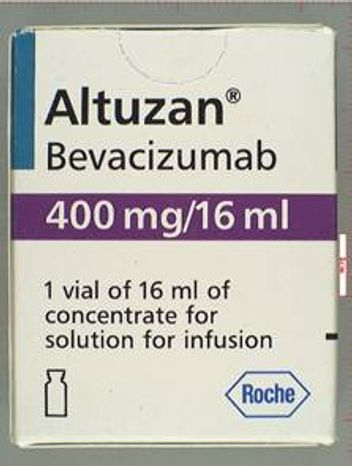 ** FILE ** The Food and Drug Administration has warned doctors that a second counterfeit version of the best-selling cancer drug Avastin has been found in the United States, packaged as Altuzan, the Turkish brand of the medication, which is not approved for use in the U.S. The agency said any packages or vials labeled with the lot number B6021 should be considered counterfeit. (AP Photo/U.S. Food and Drug Administration)
