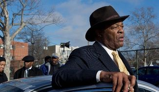 Marion Barry, just two days after he won the Democratic primary for D.C. Council, said things about Asian-Americans in his Ward 8 that have created an uproar. (Barbara L. Salisbury/The Washington Times)
