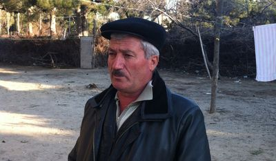Rafael Ismailov, a retired truck driver injured in Azerbaijan during the Khojaly Massacre 20 years ago, says the hardships will be warranted if he can to return to his homeland. (Eric J. Lyman/Special to The Washington Times)
