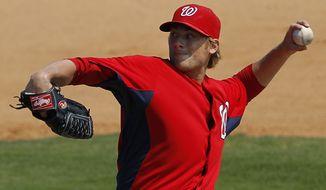 **FILE** Washington Nationals pitcher Ross Detwiler (Associated Press)