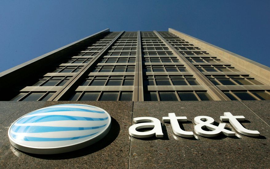 **FILE** AT&T's Michigan headquarters in Detroit (Associated Press)