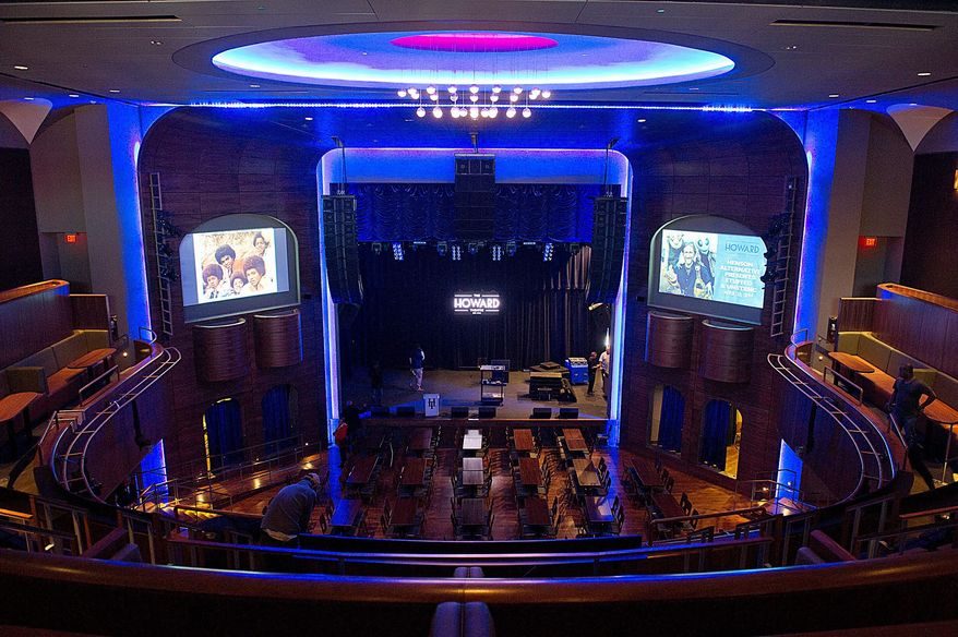 Those who frequented the Howard Theatre back in the day are impressed with the newly renovated space. Stars including Duke Ellington, Marvin Gaye and Diana Ross once performed at the club, which many residents remember cutting school for to see the shows. The theater will now offer a full-scale kitchen, bar and, of course, live acts. (Barbara L. Sallisbury/The Washington Times)