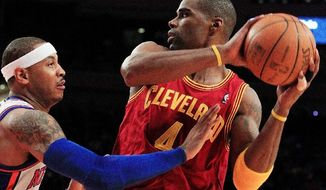 ANTAWN JAMISON: Traded to Cleveland in 2010, the veteran is now counted on to provide a guiding presence for the rebuilding Cavaliers. (Associated Press)