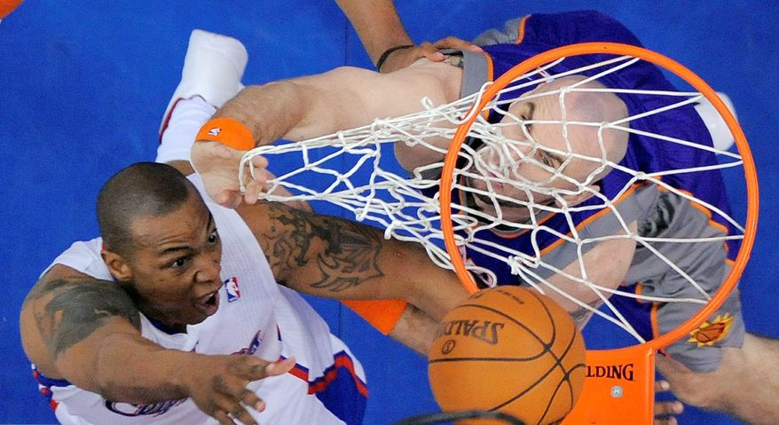 CARON BUTLER: He won an NBA title with Dallas last season, and now he's playing with the Clippers. (Associated Press)