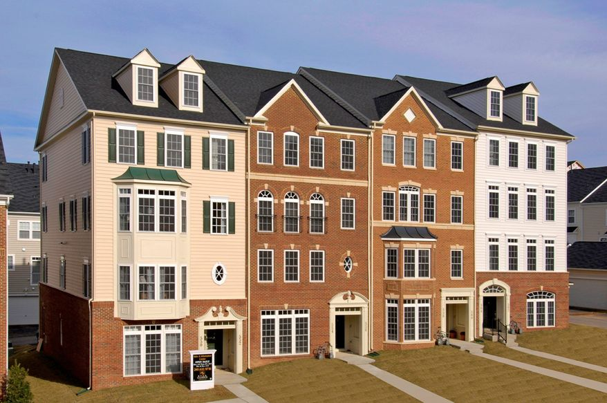 Ryan Homes is building 210 town-home-style condominiums at Linton at Ballenger Crossing in Frederick. The homes have approximately 1,650 to 2,500 finished square feet, with base prices from $239,990 to $264,990.