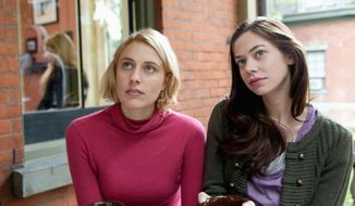 "Greta Gerwig and Analeigh Tipton are friends in ""Damsels in Distress,"" a comedy about three coeds out to reform the men at their East Coast college. (Sony Pictures Classics)"