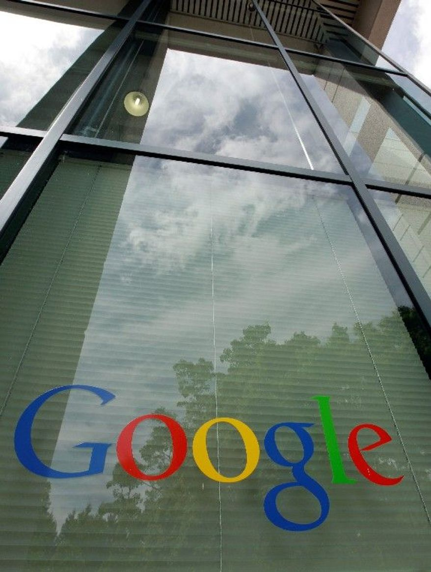 Google Inc. announced Thursday that it earned $2.89 billion, or $8.75 per share, in the first quarter. That is up from $1.8 billion, or $5.51 per share, a year earlier. (Associated Press)