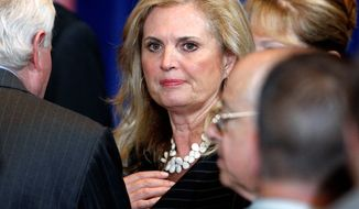 "Ann Romney, wife of Republican presidential candidate Mitt Romney, was the target of criticism from a Democratic Party activist who said she ""never worked a day in her life."" The remark created a political firestorm that led to President Obama distancing himself from the comment. (Associated Press)"