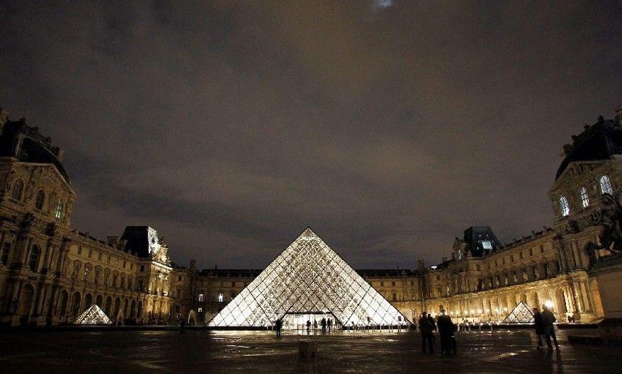 Louvre museum in Paris. (Associated Press)