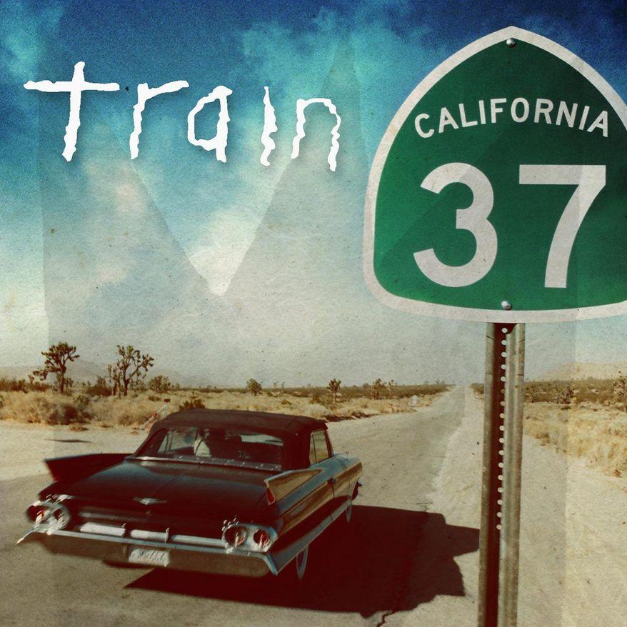 "Album cover for Train's ""California 37"""
