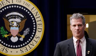 Sen. Scott P. Brown, Massachusetts Republican, is running neck-and-neck in his re-election bid against presumed Democratic opponent Elizabeth Warren, a Harvard professor known as President Obama's top consumer-protection adviser. Mr. Brown is seeking to localize the race after winning his seat two years ago on a national wave of tea party sentiment. (Associated Press)