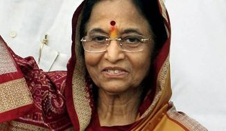 **FILE** Indian President Pratibha Patil (Associated Press)