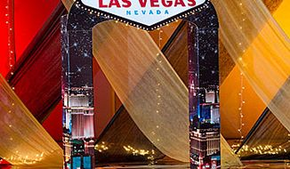"""Those who want to """"Party Like the GSA in Vegas"""" should get a glittering entrance for guests suggests Shindigz, an events company that has already rolled out a General Services Adminstration-inspired party theme. (Image from Shindigz)"""