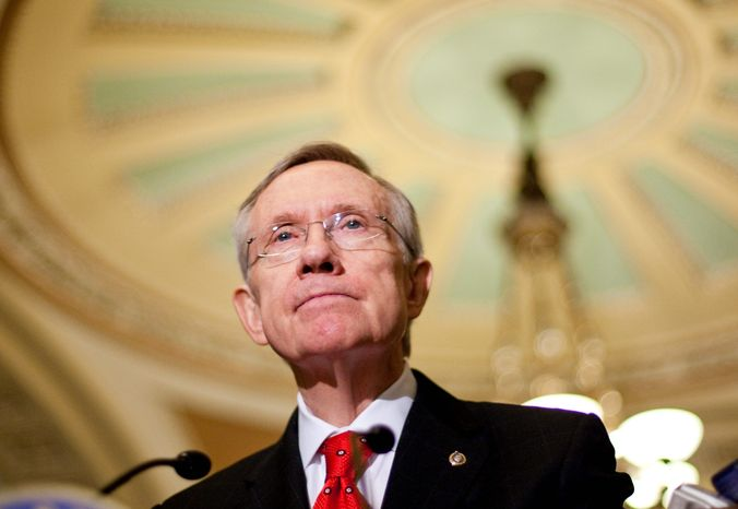 Senate Majority Leader Harry Reid has given the Treasury $41,600 in campaign donations connected to Harvey Whittemore. The FBI is investigating whether Mr. Whittemore reimbursed others for making campaign contributions. (Associated Press)
