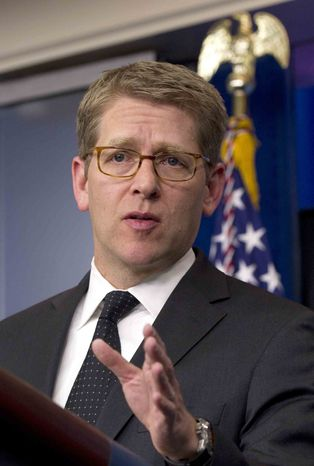 **FILE** White House press secretary Jay Carney (Associated Press)