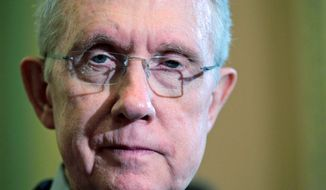 **FILE** Senate Majority Leader Harry Reid, Nevada Democrat (Associated Press)
