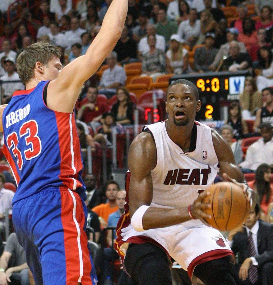 "Either way, it was energy that we were spending instead of talking about how we can get better. This year, it's just been all about basketball."" - Chris Bosh"